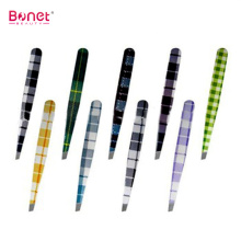 CE qualified Heat Transfer Printing Pattern Eyebrow Tweezer