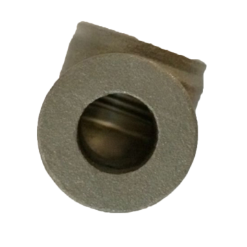 Lost Wax Casting Steel Hydraulic Cylinder Port