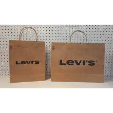Large brown paper bags favors