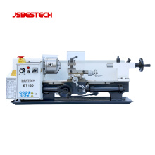 BT180 mini lathe machine for teaching use