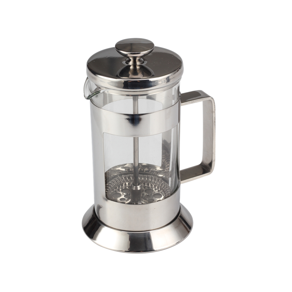 Silver Glass French Press2