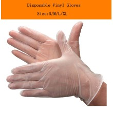 cleaning magic vinyl gloves EN455 EN374 certified