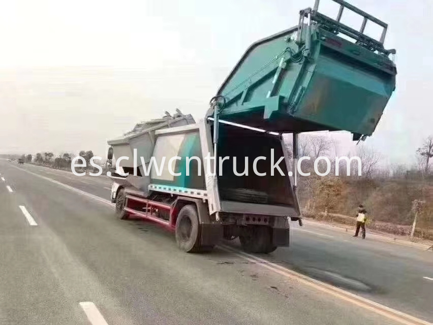 waste collection truck 6