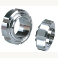 Precision CNC Nuts Male Housing Galvanized Parts