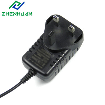 18W 12V 24V UK Wall wisselstroomadapter