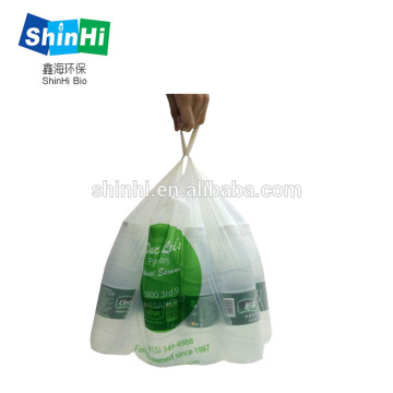 100% biodegradable vegetable and fruit bag for shopping
