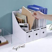 Desktop Bookshelf Books Magazine Storage Rack Shelf File Stationery Holder Organizer Home Office Supplies Bookends Storage Box