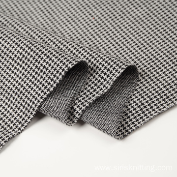 Rayon Polyester Nylon Spandex Double Jacquard Fabric