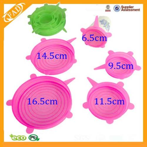 Soft Flexible Silicone Fresh Cover/Lid