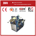 Semi-auto double station case hardcover making machine