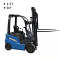 1.5T Electric Forklift 6m