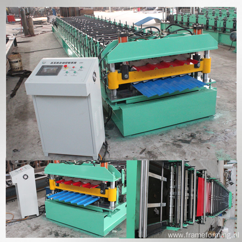 roll forming machine metal steel roofing