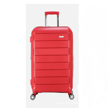 OEM RED Travel 20 Inch PP Trolley Luggage