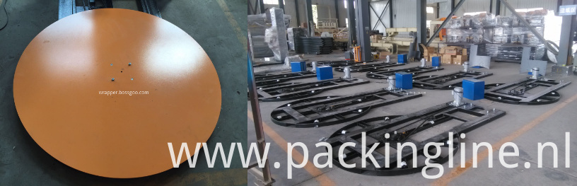 Pallets Stretch Film Wrapping Machine (turntable and overall frame)