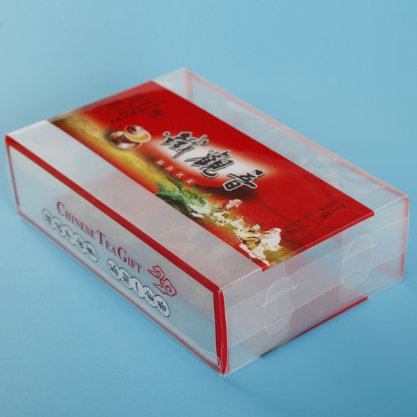PET Food Grade Material Printing Box For Tea
