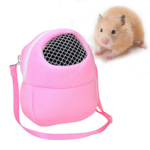 Hamsters Carrier Bag Portable Breathable Outgoing Bag for Small Pets Chinchilla Guinea Pig Squirrel SEC88