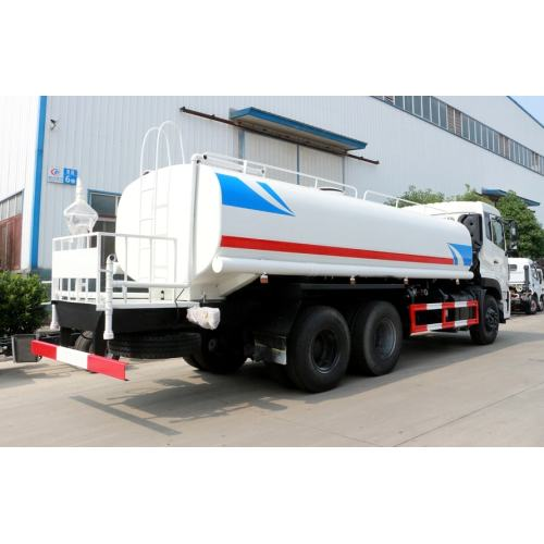 Luxurious type Dongfeng 25000litres mining water truck