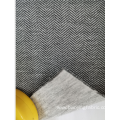 Herringbone Twill Scuba Knitting Fabric