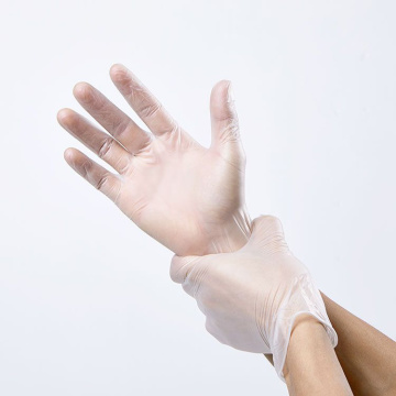 biodegradable vinyl exam powder free pvc gloves disposable blue