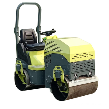 High efficiency ride-on road roller compactor 1.5ton