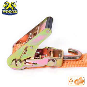 Ratchet Tie Down Strap Cargo lashing For Transportation