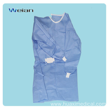 Disposable Surgical SMS Sterile Doctor Nurse Medical Gown