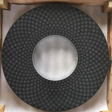 Ceramic bond diamond grinding plate