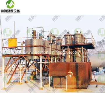 Waste Tyre Oil Pyrolysis Machine for Sale