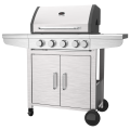 Four Stainless Steel Burner BBQ Grill