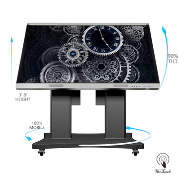 86 Inches Touch Display Cheap With Automatic Stand