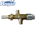 Brass gas control safty valve