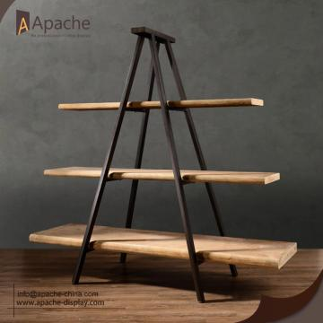 Clothing Store Furniture Floor Stand Display Shelf