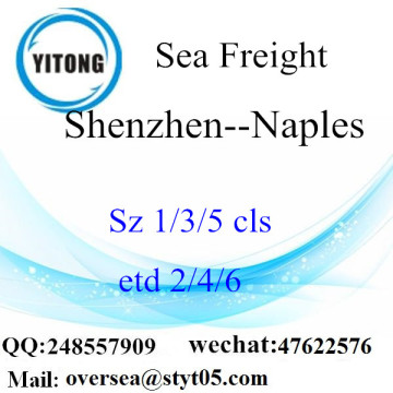Shenzhen Port LCL Consolidation To Naples