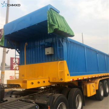 Heavy Duty Dump Semi Trailer Truck