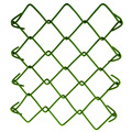 Factory directly galvanized PVC chain link fence