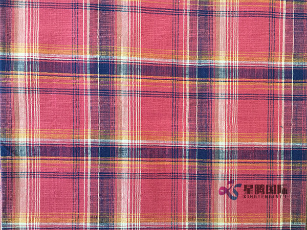 Fabric Cotton Yarn Dyed Shirting Textile