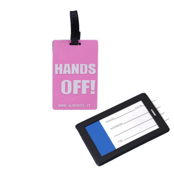 2018 Hot sale factory price luggage tag