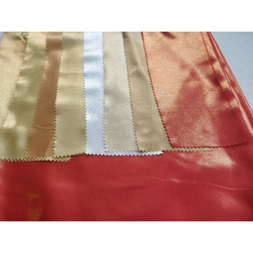 Polyester Satin Foil Fabric