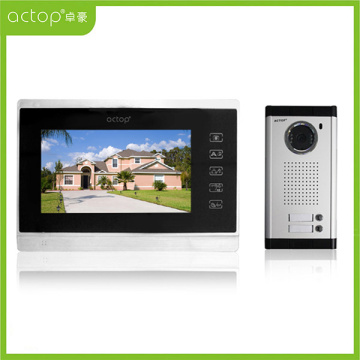 Color Video Front Door Intercom