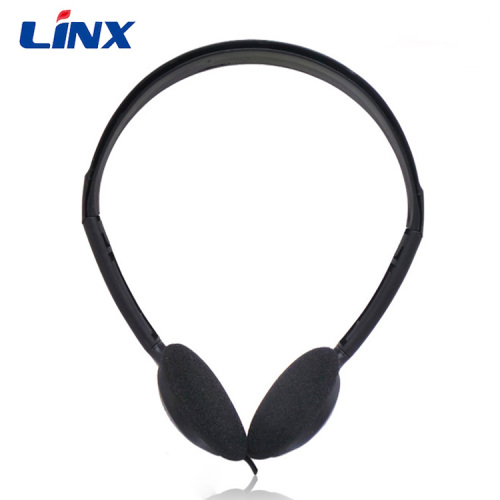 Promotion Disposable Aviation Headband Headphone