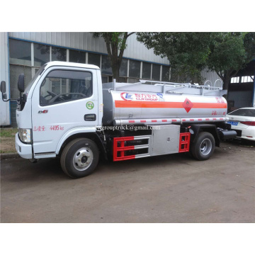 5000liter oil truck fuel tanker truck cheap price
