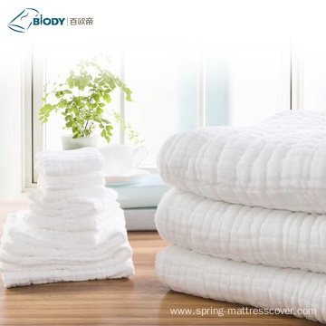 Soft Touch Security Cotton Towel Multilayer Blanket