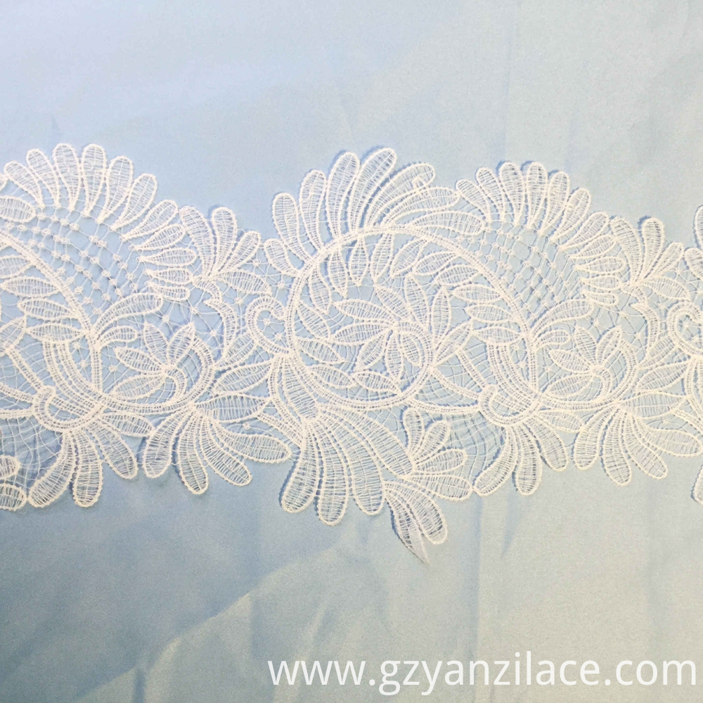 Bridal Simplicity Eyelet Lace Trim