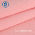 brushed pink polyester cotton polar fleece hoodie fabric