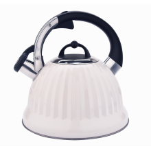 Stainess steel induction stovetop whistling tea kettle