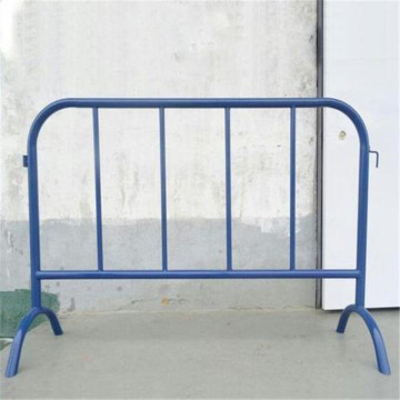 Temporary Steel Road Safety Barricade Crowd Control Barriers