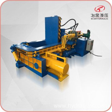 Hydraulic Waste Scrap Metal Shavings Dust Baling Press