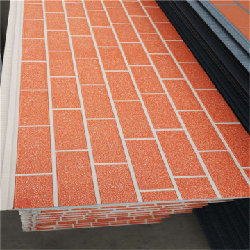 Decorative outdoor exterior wall panel