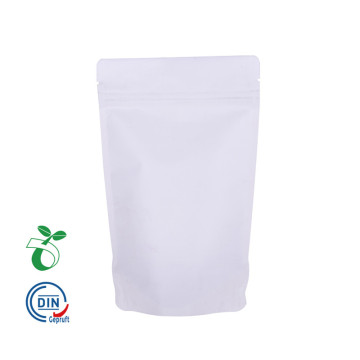 Bio Degradable Food Grade White Kraft Paper Packaging