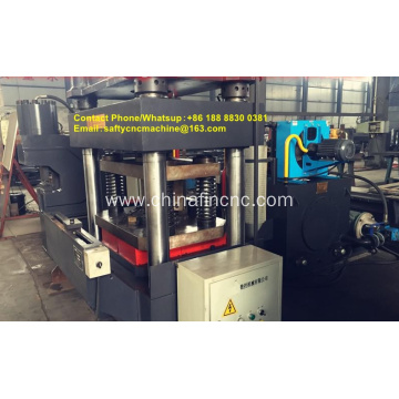 angle iron notching machine